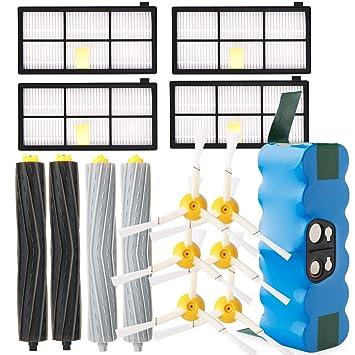 efluky Accesorios repuestos para iRobot Roomba Serie 800 900(4,0Ah batería): Amazon.es: Hogar