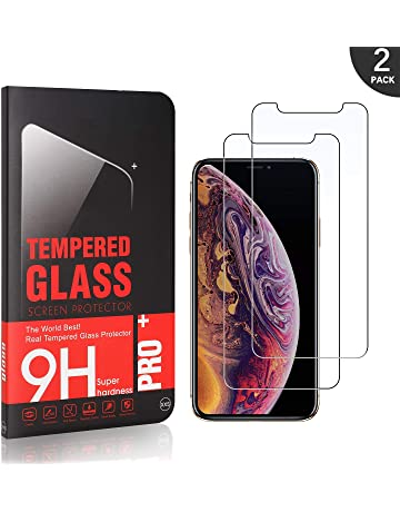 Senza Bolle Pellicola Protettiva in Vetro Temperato per Apple iPhone X//iPhone XS Bear Village/® iPhone X//iPhone XS Vetro Temperato 2 Pezzi Facile da Pulire 3D Touch