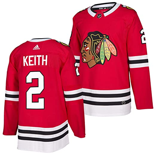 d1bfdecb8f8 Duncan Keith Chicago Blackhawks Adidas Authentic Home NHL Hockey Jersey