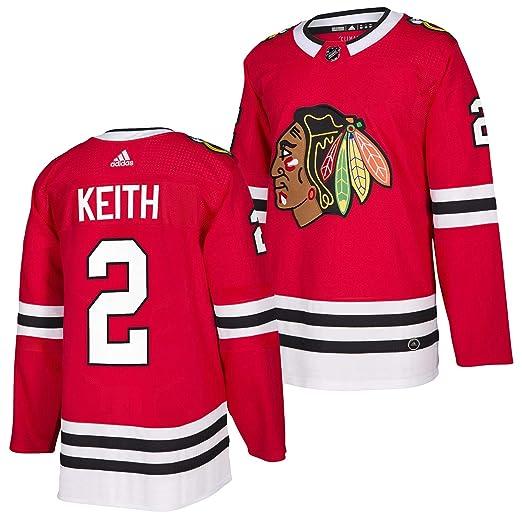 470f7142c1c Duncan Keith Chicago Blackhawks Adidas Authentic Home NHL Hockey Jersey