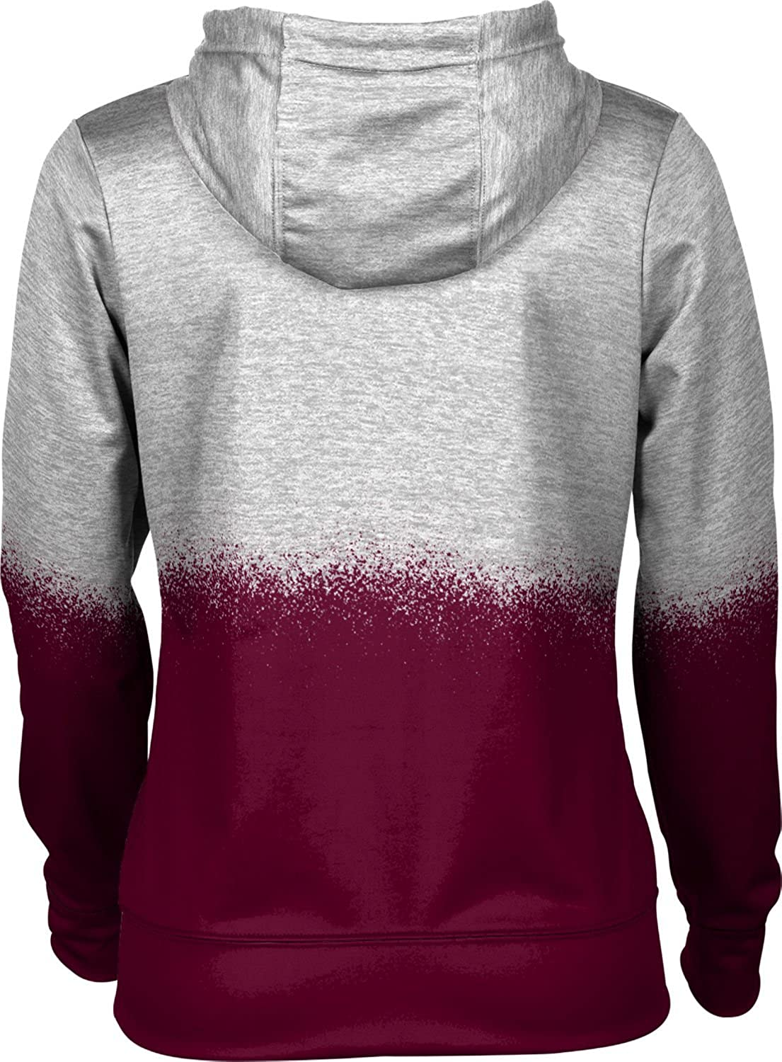 ProSphere University of Maryland Eastern Shore Girls Zipper Hoodie School Spirit Sweatshirt Spray Over