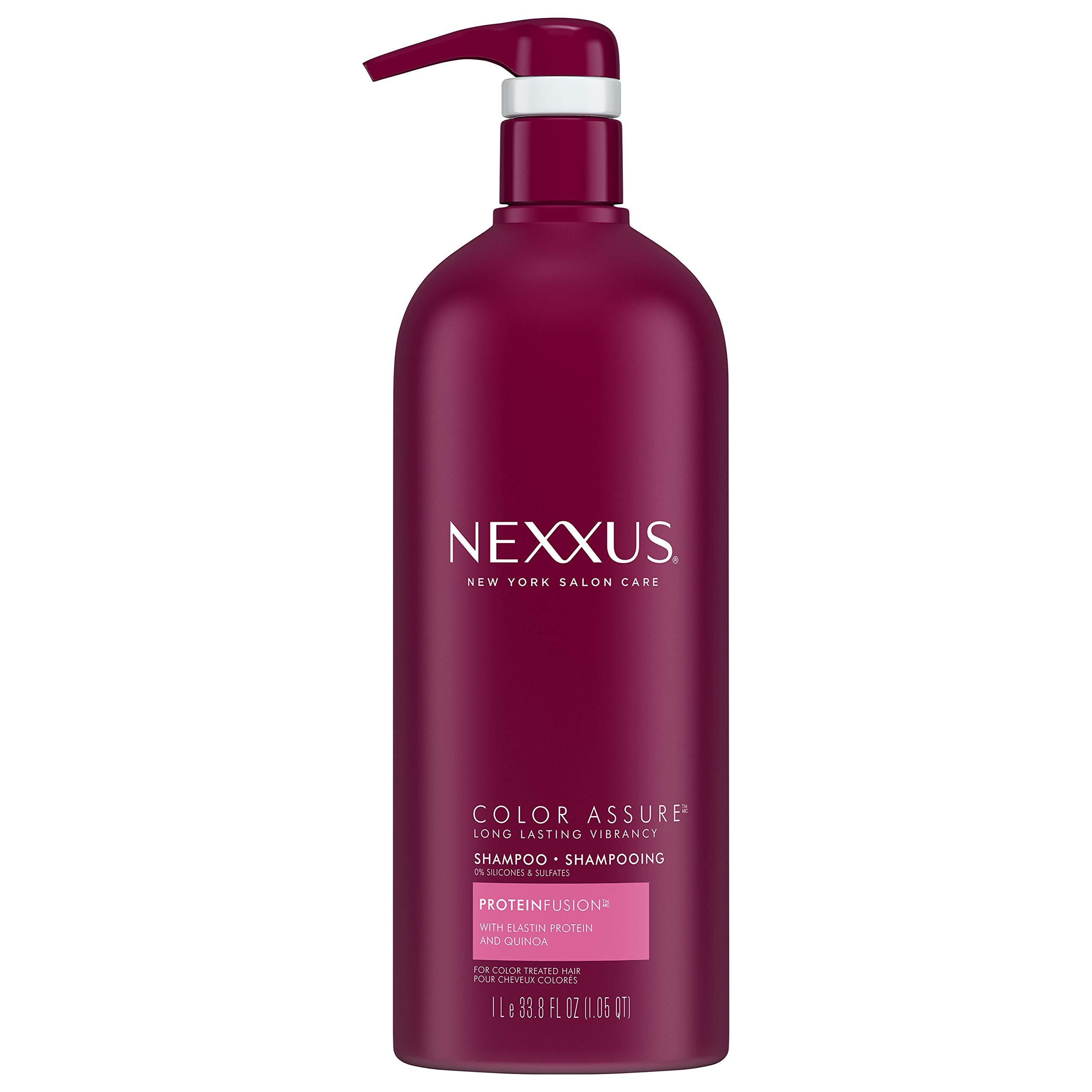 Amazon.com: Nexxus Color Assure Shampoo, for Color Treated