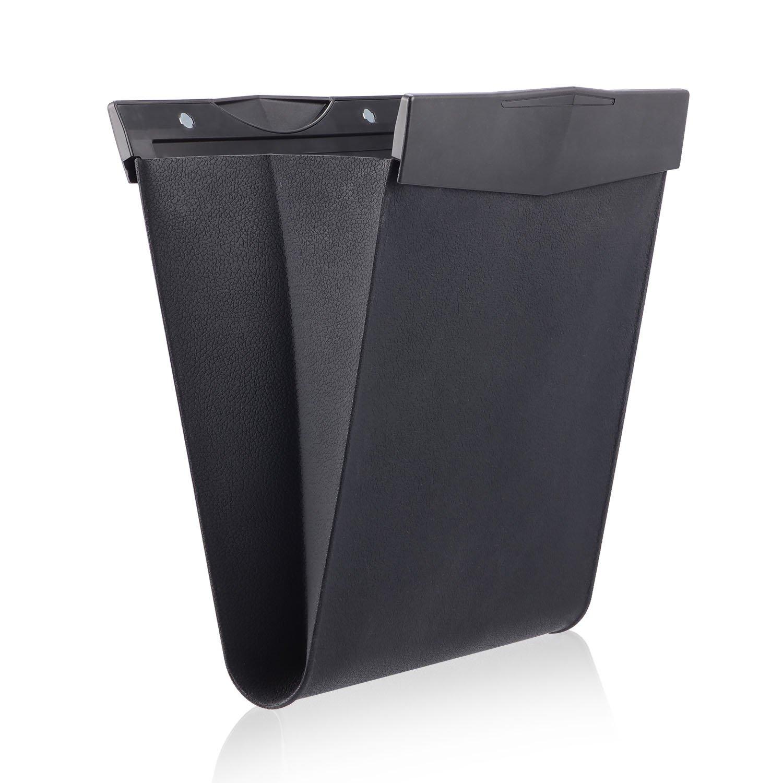 Car garbage bag, Creative car silicone waterproof hanging Auto trash bin rubbish Bag 26x30cm(10x12inch) ChunXinShu