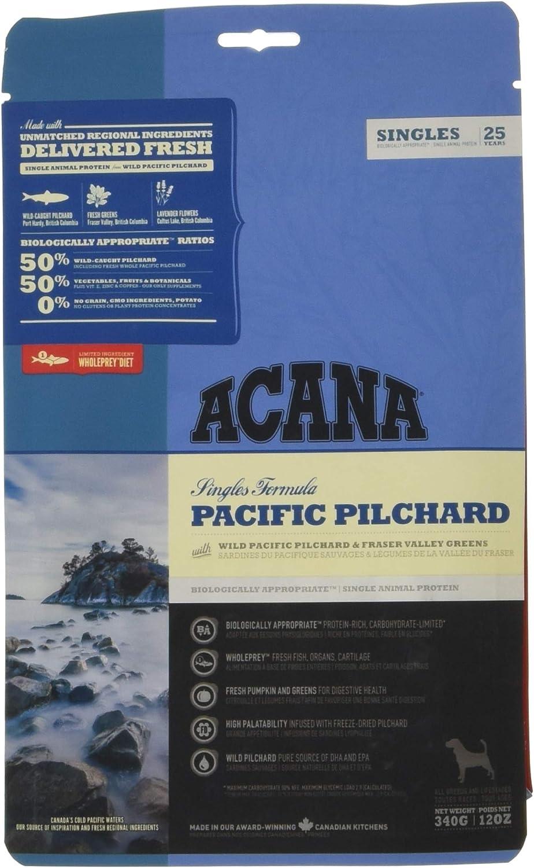 ACANA PACIFIC PILCHARD comida para perro 340 G 1 Saco