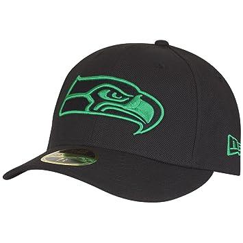 607a2d8c4 New Era 59Fifty LOW PROFILE Cap - Seattle Seahawks  Amazon.co.uk ...