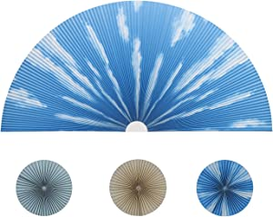 JDALL Cellular Honeycomb Pleated Blinds for Half Circle Arch WindowHalf Round Window Light Filtering Fabric Shade Quick Fix and Easy to Install-Cloud 2 Packs