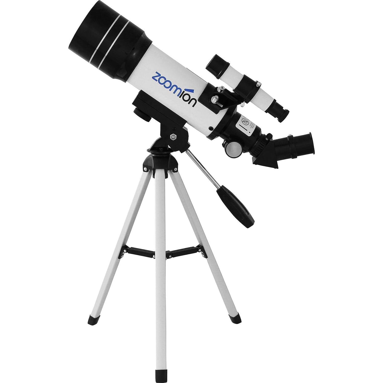 Telescopio Zoomion Pioneer 70 AZ, con treppiede da tavolo per l'astronomia