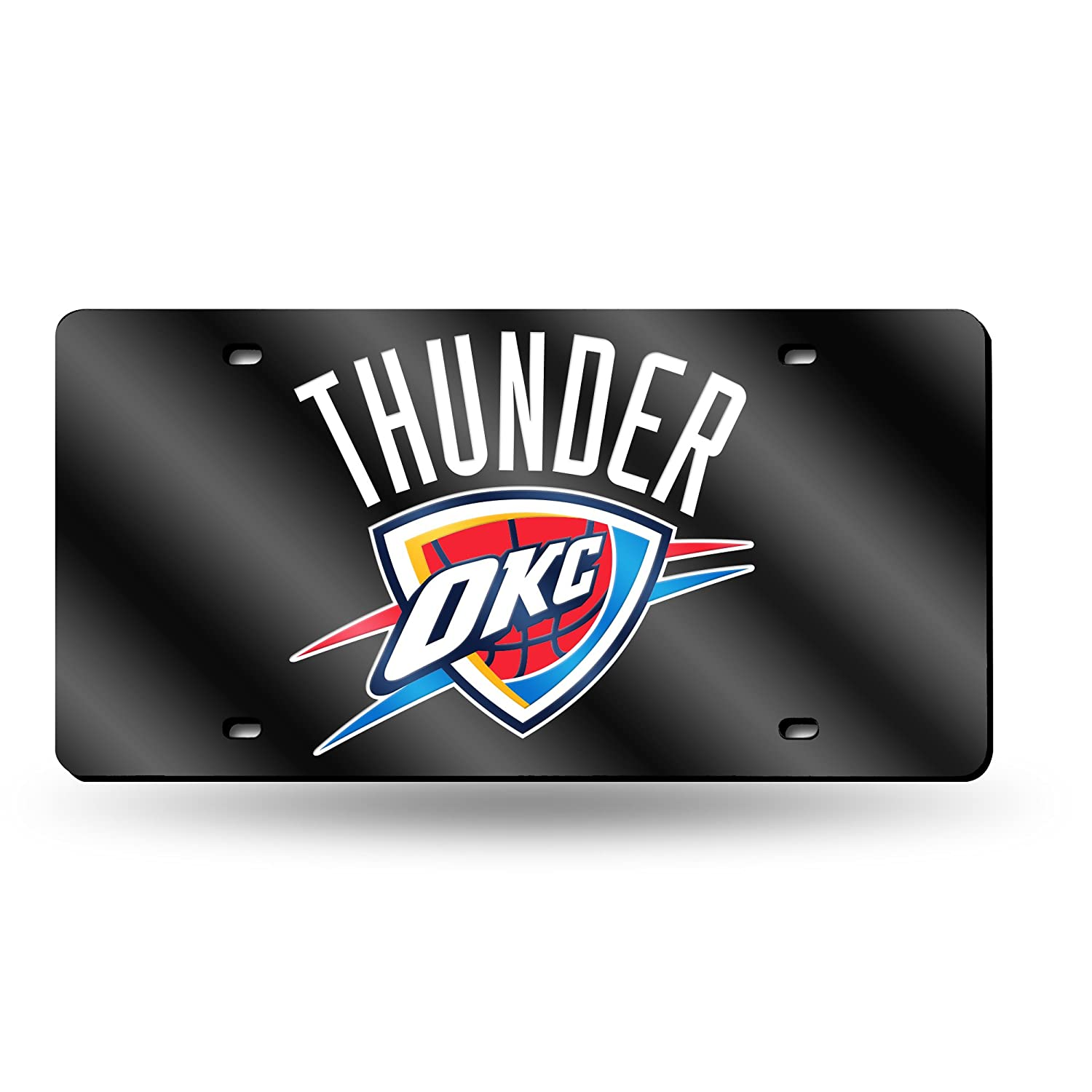 amazon com nba oklahoma city thunder laser cut license plate