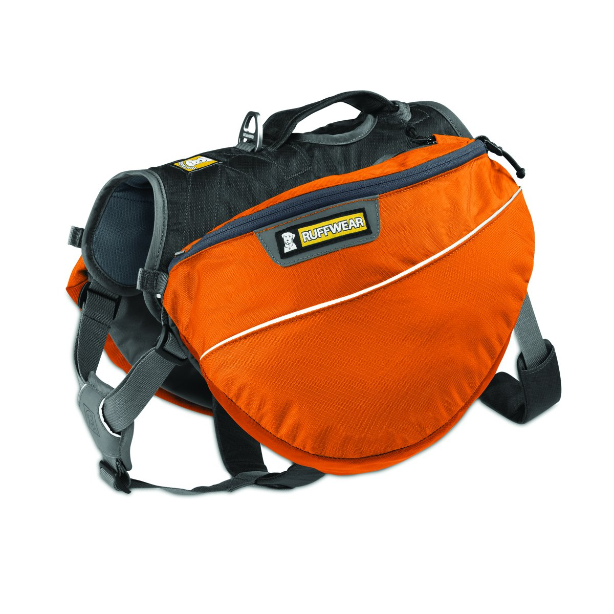 A product shot of the Ruffwear Hiking Backpack