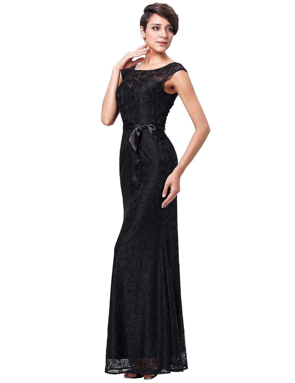 Kate Kasin Vintage Donna Vestito Lunghe Elegante Pizzo Coctel Lungo Abito  Da Sera Abiti da Cocktail Sposa Bridesmaids  Amazon.it  Abbigliamento 781286492d8