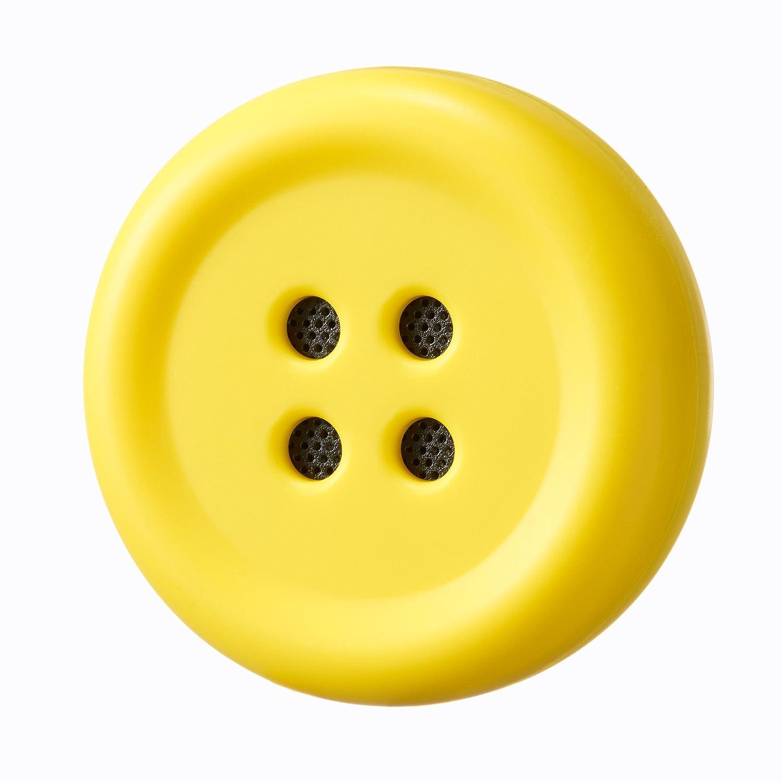 ぬいぐるみにつけるボタン型スピーカー
