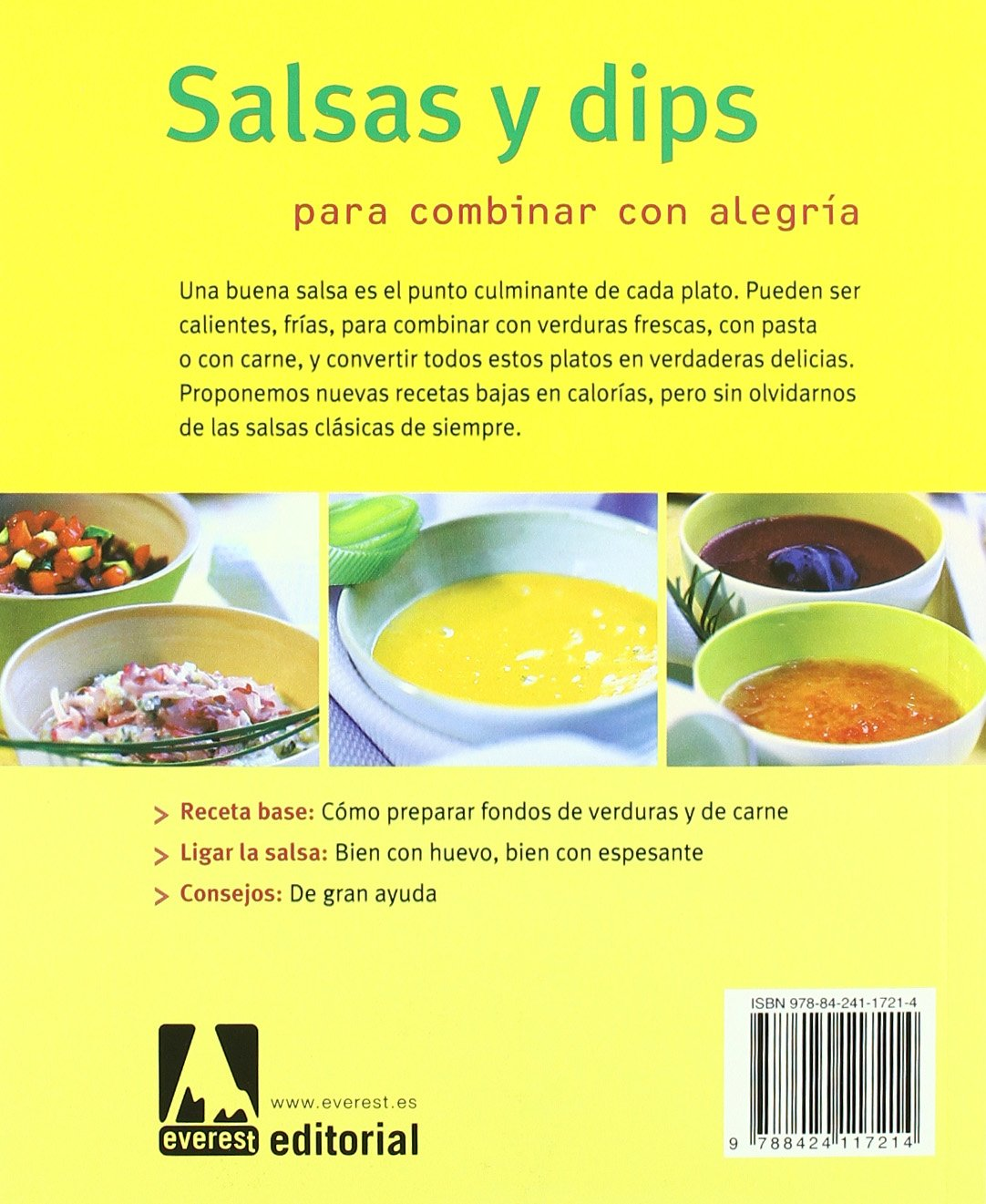 Salsas y Dips (Spanish Edition): Elisabeth Dopp: 9788424117214: Amazon.com: Books