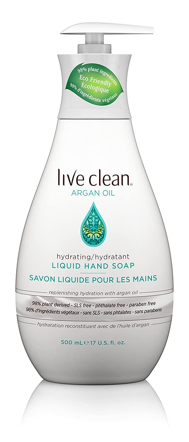 Live Clean Exotic Nectar Argan Oil Liquid Hand Soap 65743321140