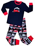 Amazon Price History for:Babyroom Boys Pajamas Train Little Kids PJS 100% Cotton Toddler Kids Sleepwears Pant Set