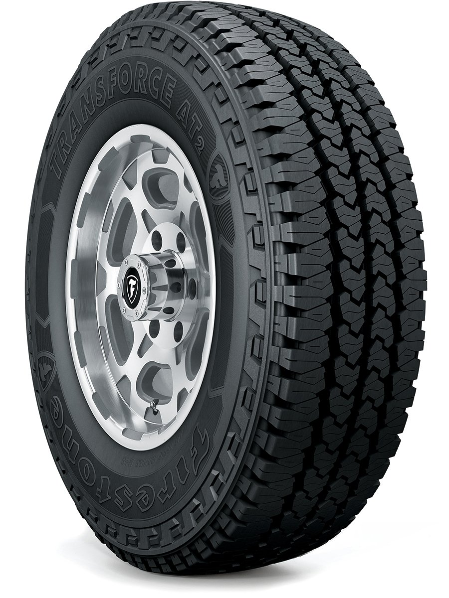 Firestone TRANSFORCE AT2 Commercial Truck Tire - LT245/75R16 120R E/10 120R 181