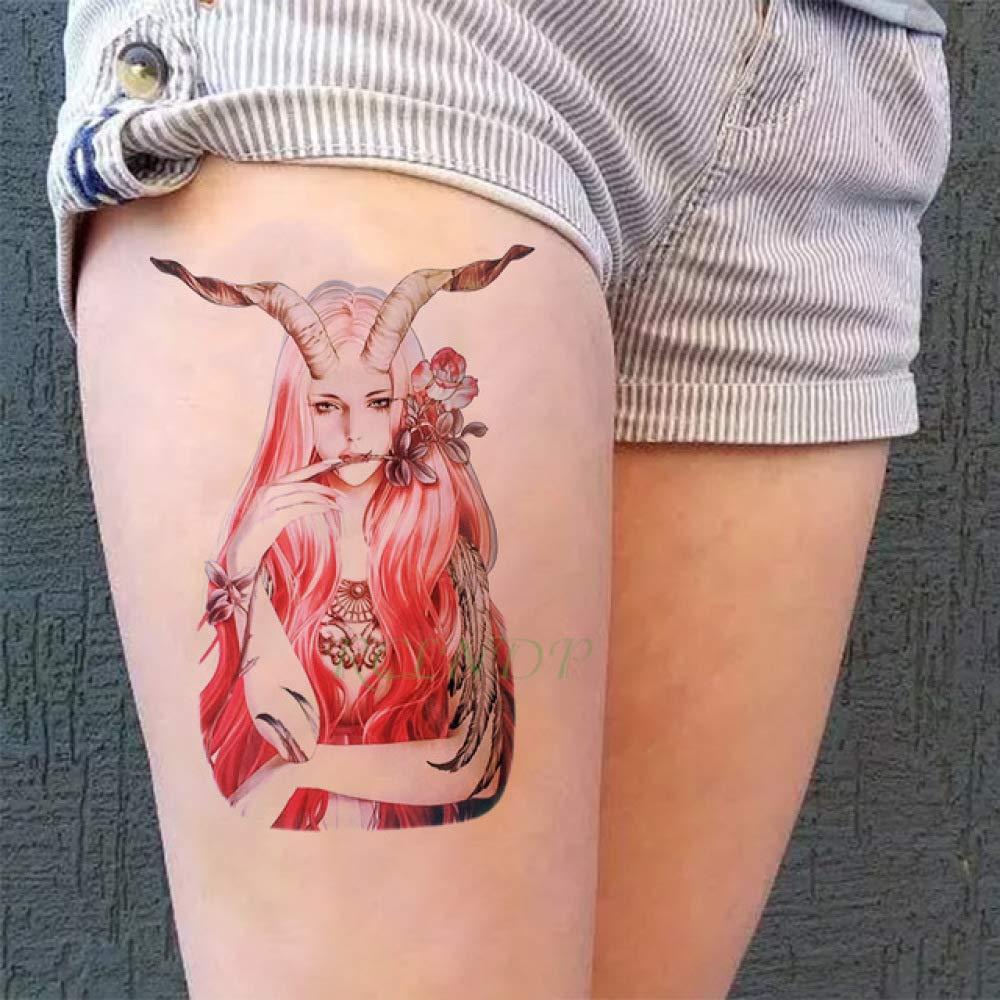 ljmljm 5 Piezas Impermeable Tatuaje Pegatina Princesa Corona ...