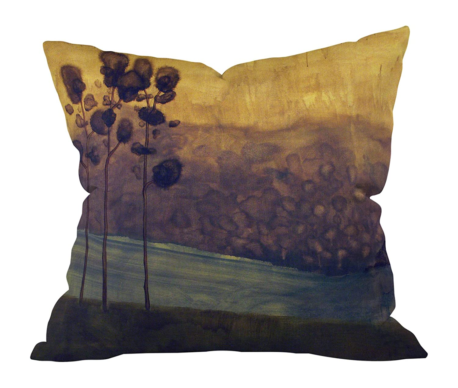 16 x 16 Deny Designs Conor Odonnell Tree Study 17 Outdoor Throw Pillow