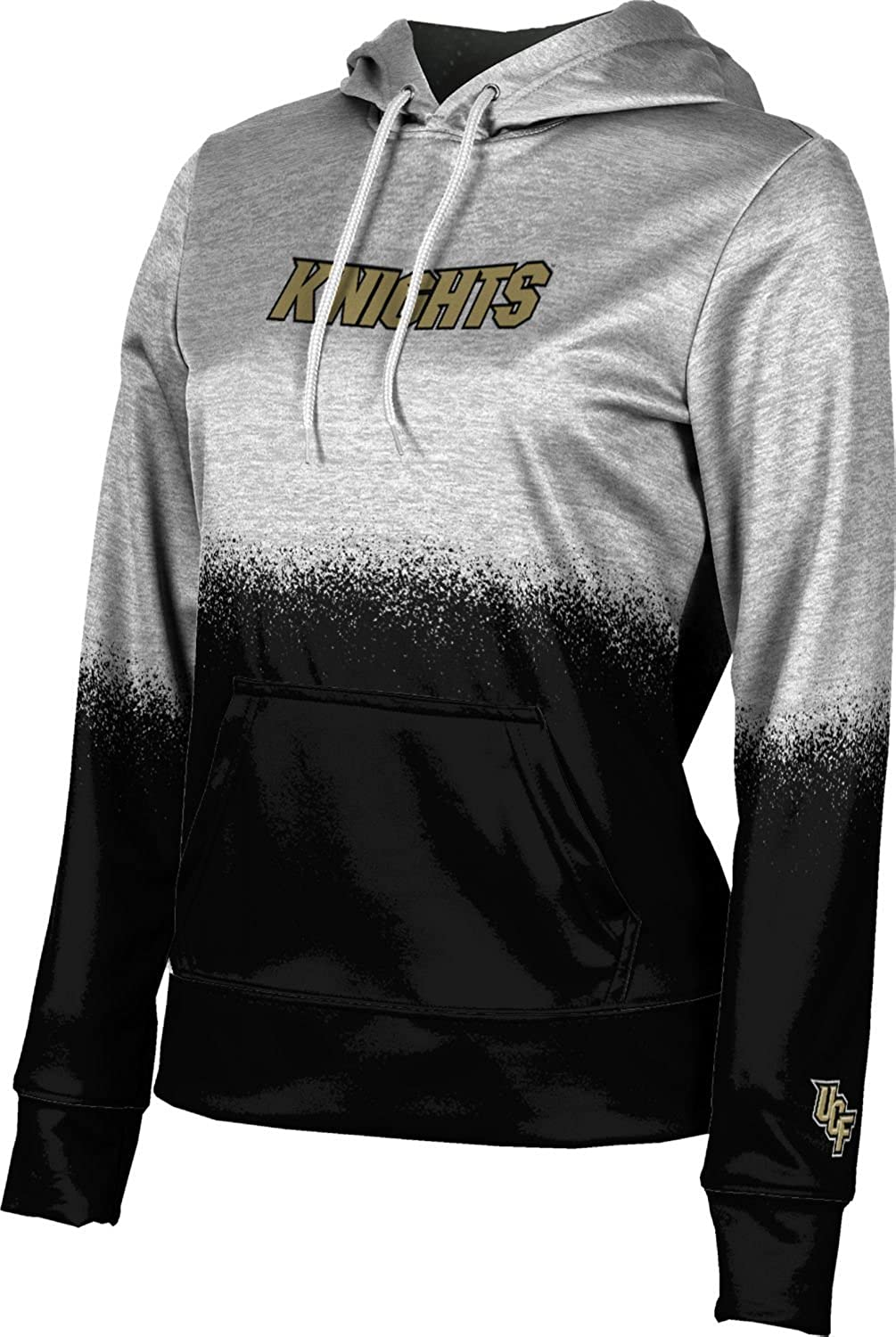 School Spirit Sweatshirt ProSphere University of Central Florida Girls Pullover Hoodie Spray Over