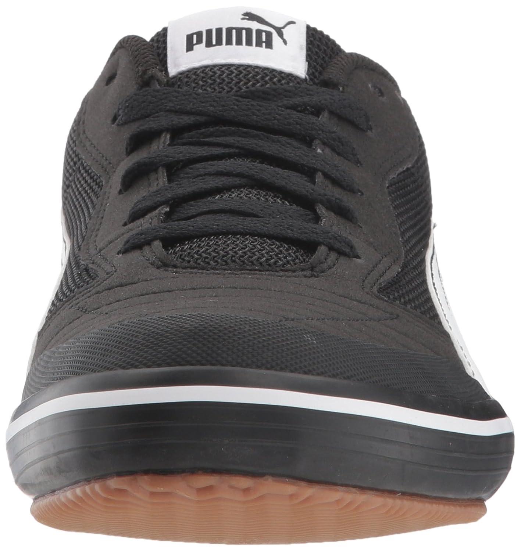 PUMA Men's Astro Sala Sneaker  Black White  7 M US