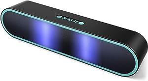 ELEHOT Bluetooth Speaker, Speaker Portable Wireless,TWS Dual Pairing,Hi-Fi Stereo Loud Volume with Subwoofer Outdoor 1 PC (Blue)