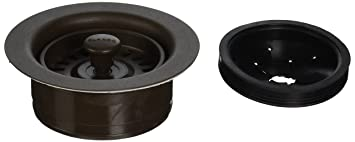 Blanco BL441099 Silgranit II Coordinated Sink Waste Disposer Stopper And  Strainer, Cafe Brown