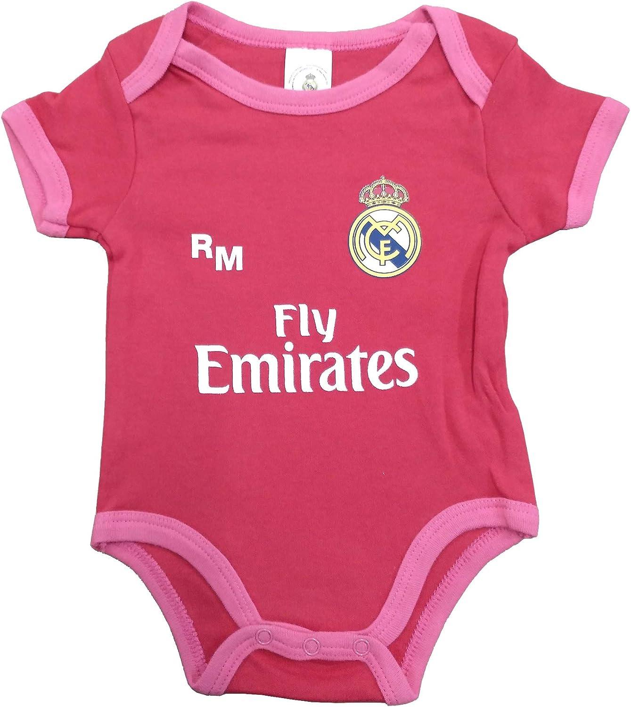 offizielles Produkt der dritten Ausr/üstung 2018//2019 Real Madrid FC Body f/ür Kinder personalisierbar