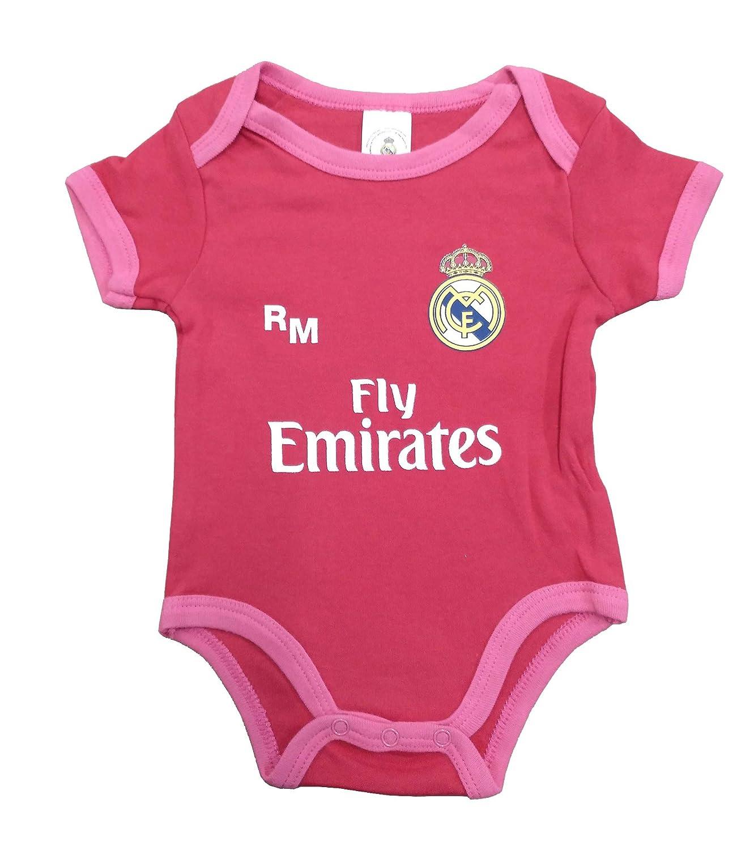 Real Madrid FC Baby M/ädchen 0-24 Monate Set Rot