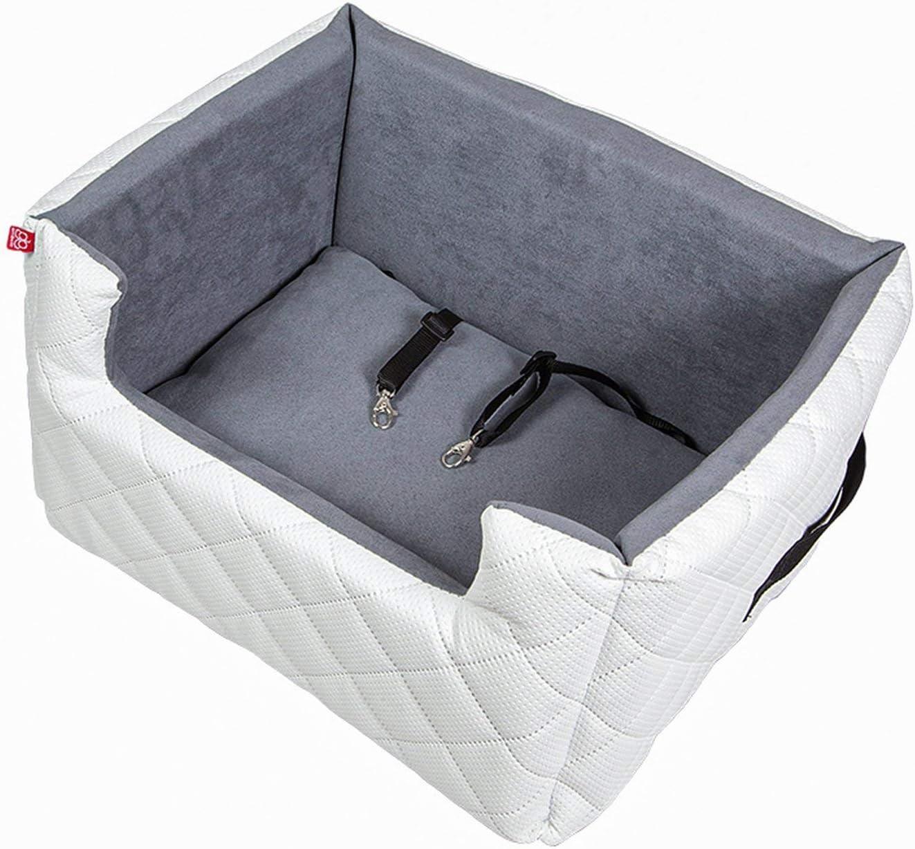 wasserdichtes Material Deluxe Lookout Safe Autositz Autotransporter f/ür Hundekatzen bis 30 Pfund Aufblasbares Auto-Haustier-Zusatzsitz f/ür Hunde oder Katzen