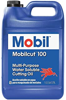 Mobilcut 100, Cutting Oil, 1 gal