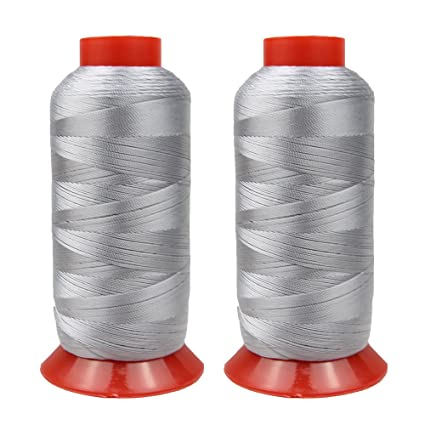 Bonded Polyester Thread High Strength Heavy Duty UV Resistant Outdoor  Thread #69 T70 Size 210D/3Ply for Upholstery, Outdoor Market, Drapery,  Leather,