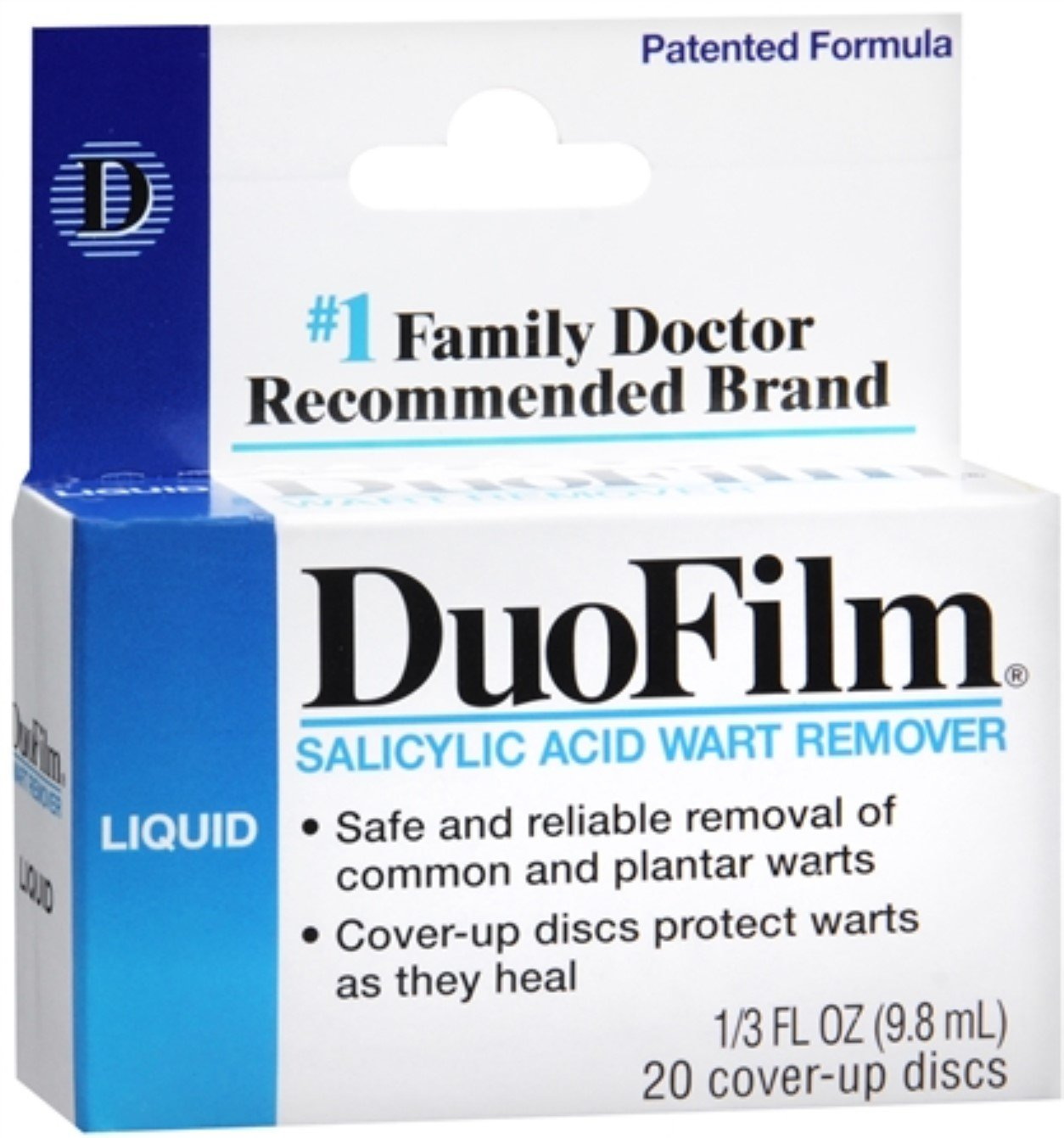 DuoFilm Wart Remover Liquid 0.33 oz (Pack of 4) by Duofilm