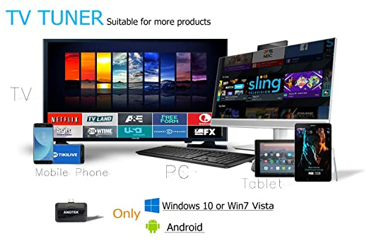 Amazon.com: Digital USB TV Tuner Receiver External TV Stick, 6 in1