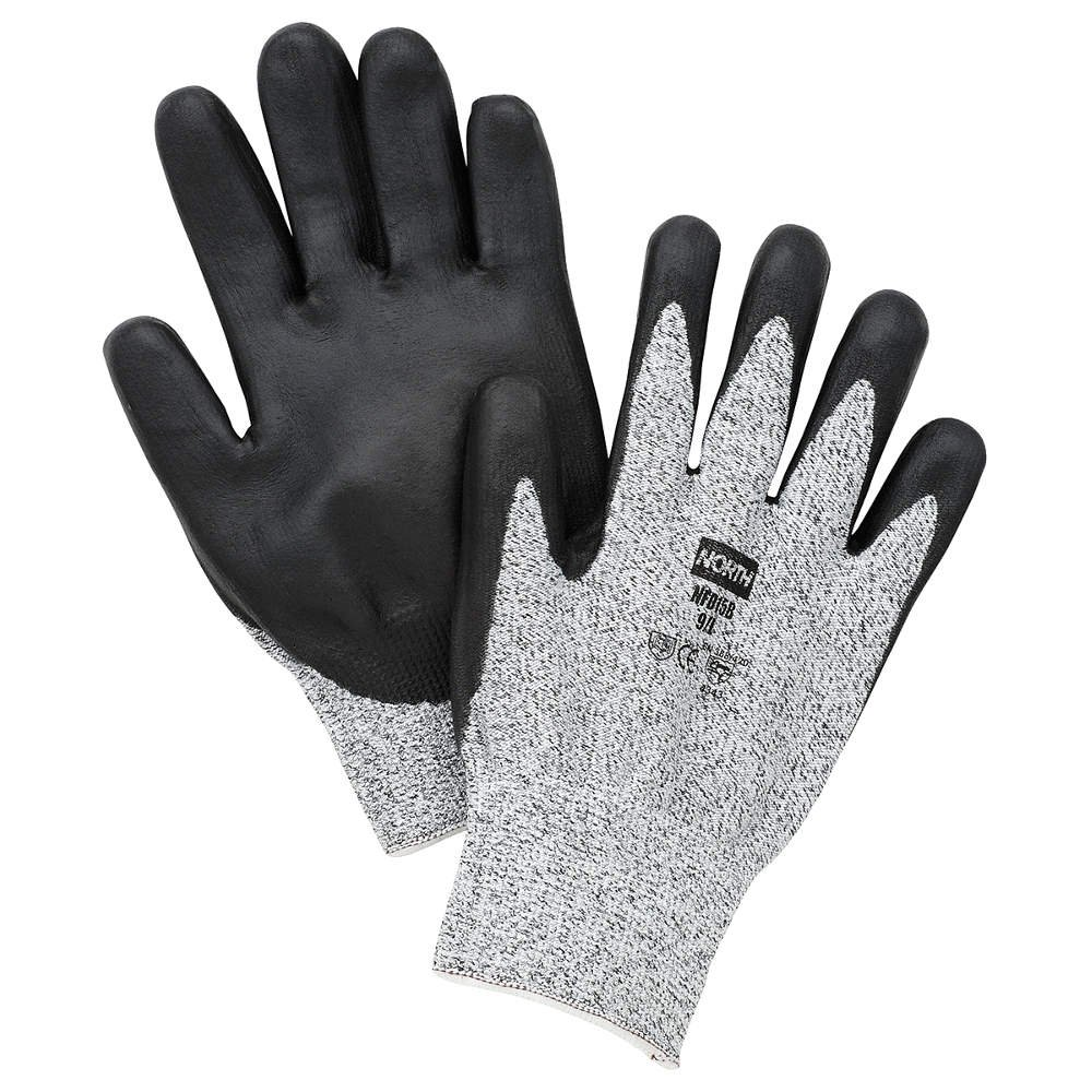 Honeywell NFD15B/10XL North Cut Resistant Gloves, X-Large, Gray/Black by Honeywell (Image #1)