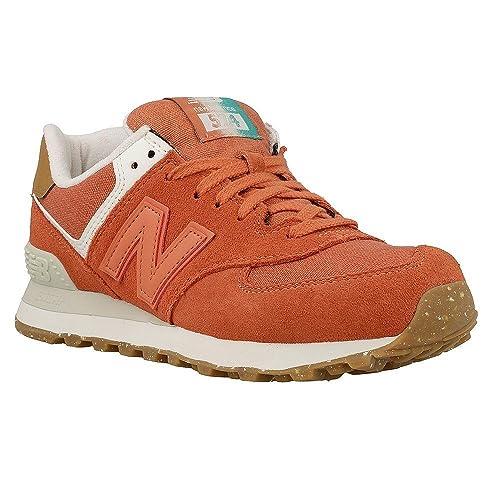 NUOVO Sneaker New Balance 574 Scarpe Sneaker NUOVO Donna Scarpe Da Donna Scarpe Da Ginnastica wl574sea ARANCIONE 530c0f