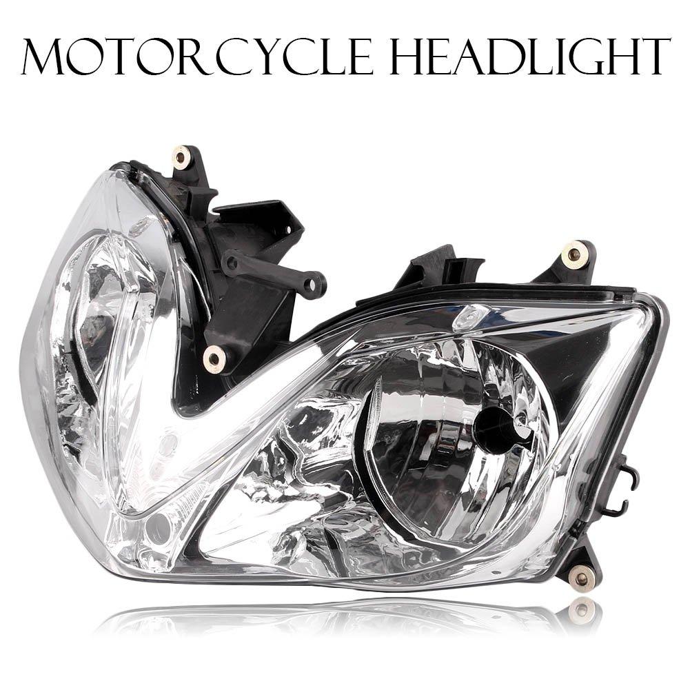 バイク 高品質 ヘッドライト カバー 電球なし 専用設計 ABS製 交換 防水 耐衝撃 耐熱 ドレスアップ カスタム 外装 パーツ 本田 CBR600F4i 2001-2007 B07S1TL5S4