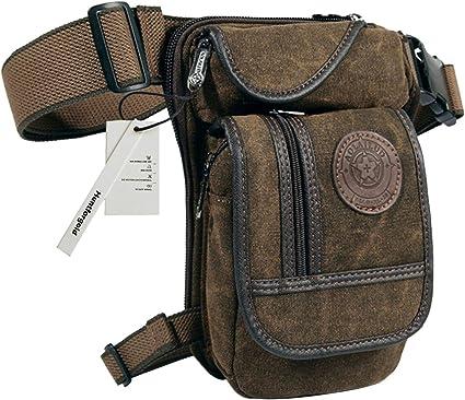 DE Herren Multifunktion Taille Tasche Taktische Hüfttasche Camping Gürteltasche