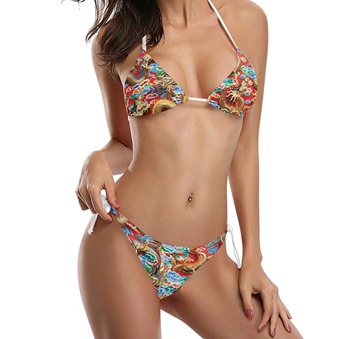 Asian bathing suit