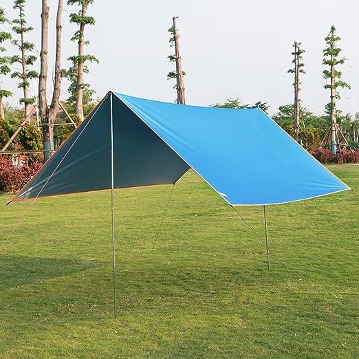 Accesorios para tiendas de campaña Lonas Toldo para exteriores Toldo para acampar para múltiples personas en la playa Toldo para lluvia con protección solar 3 personas - Toldo para 4 personas: Amazon.es: Hogar