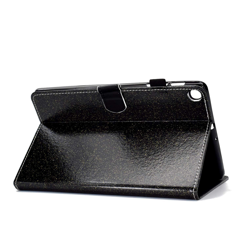 Elefante T510//T515 HereMore Funda para Samsung Galaxy Tab A 10.1 Cubierta de Cuero Case Antichoque Protectora Cascara Trasera de Silicona con Soporte Funci/ón y Ranuras para Documentos 2019