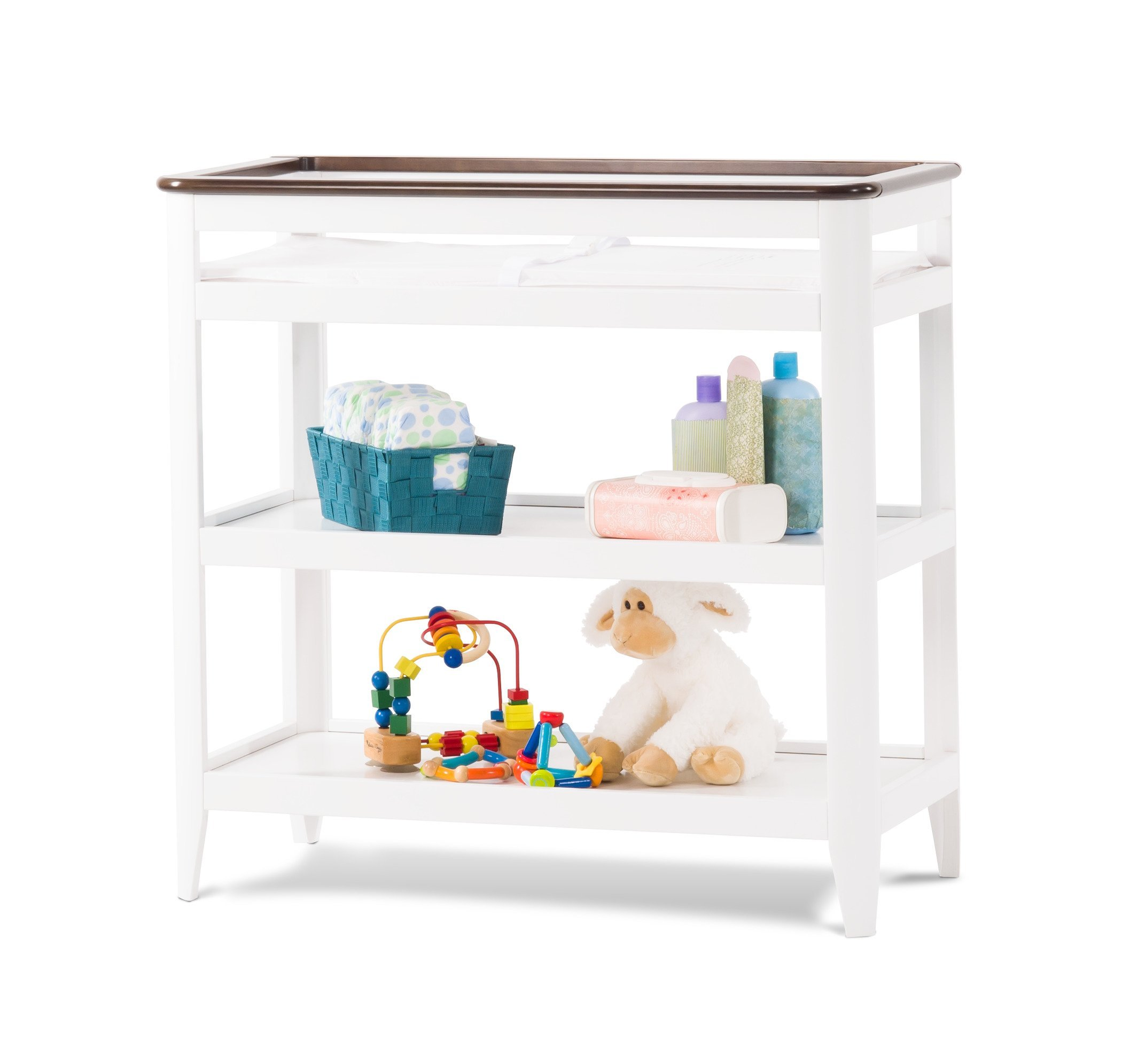 Childcraft Studio Dressing Table, Matte White/Slate