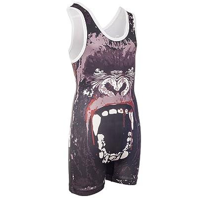 KO Sports Gear Wrestling Singlet – Bloody Gorilla