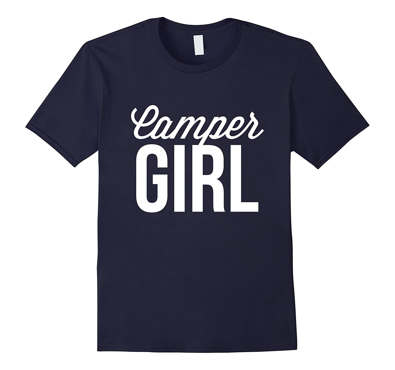 Camper Girl Nice T Shirt-FL