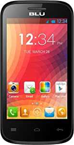 BLU Dash JR 4.0 D142 Unlocked Dual Sim Phone - Black