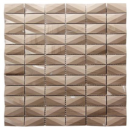Diamond Pattern Athens Grey Marble Tile 12x12 Grey Backsplash Tile