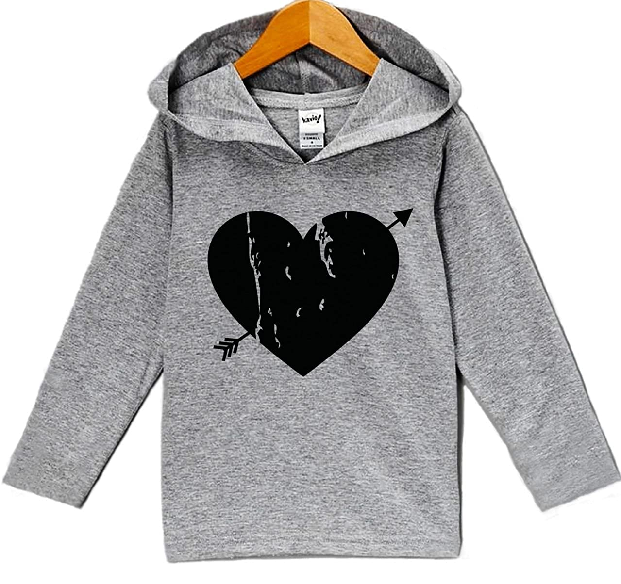 Custom Party Shop Babys Black Heart Valentines Day Hoodie