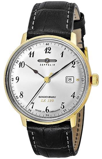 Zeppelin Reloj Hindenburg plata Dial 7044 – 4 Hombres De paralelo mercancías de importación]