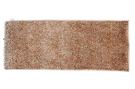 houzz new shaggy runner rug brown non