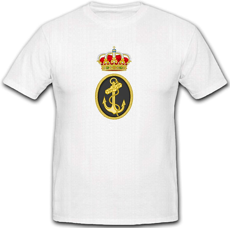 Ejército Escudo España Espana Marino Emblema Corona nadadores – Camiseta # 7328: Amazon.es: Ropa y accesorios