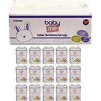 baby me Bebek Temizleme Pamuğu 15x60 adet