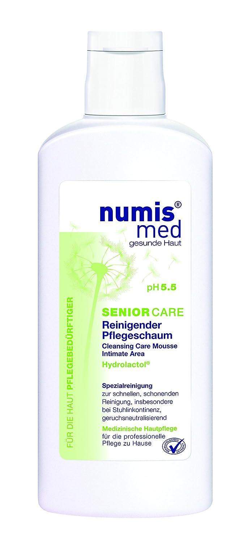 numis med SENIOR CARE Reinigender Pflegeschaum - vegan & parabenfrei, 2er Pack (2 x 180 ml) 2er Pack (2 x 180 ml) 020212